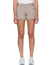 adidas By Stella McCartney - Pink Ess Knit Shorts - Lyst