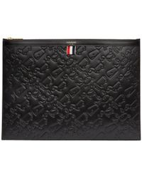 Thom Browne - Black Large Toy Icon Laptop Holder - Lyst