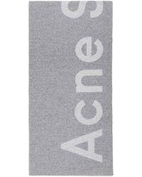 Acne Studios - グレー Toronty マフラー - Lyst