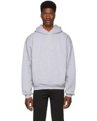 Martine Rose - Grey Classic Hoodie - Lyst