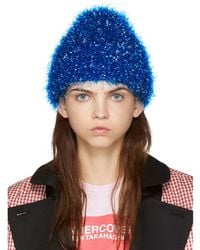 Undercover - Bue Glossy Film Beanie - Lyst