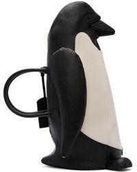 Thom Browne - Black & White Penguin Tote - Lyst