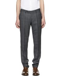 Tiger Of Sweden - Grey Gordon Trousers - Lyst