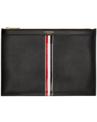 Thom Browne - Black Small Tablet Holder - Lyst