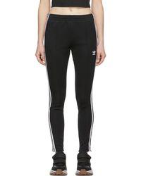 adidas Originals - Pantalon de survetement noir SST - Lyst