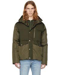 Moncler - Green Down Cuzco Jacket - Lyst