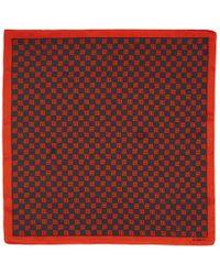 MISBHV - ブラック And レッド モノグラム スカーフ - Lyst