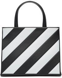Off-White c/o Virgil Abloh - Diagonal Leather Mini Box Bag - Lyst