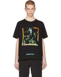 Off-White c/o Virgil Abloh - Black Gradient Caravaggio Slim T-shirt - Lyst