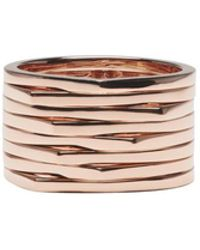 Repossi - Rose Gold 8 Rows Antifer Ring - Lyst