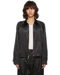 3.1 Phillip Lim - Black Have A Nice Day Jacket - Lyst