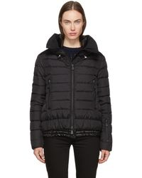 Moncler Grenoble - Black Down Vonne Jacket - Lyst