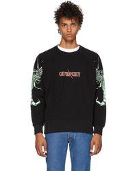 Givenchy - Black Scorpion Logo Sweatshirt - Lyst