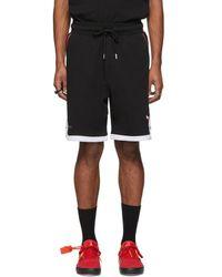 Marcelo Burlon - Black Nba Edition Chicago Bulls Shorts - Lyst