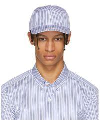 Harmony - Blue Striped Arnaud Cap - Lyst