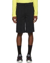 Alexander Wang - Black Cotton Shorts - Lyst