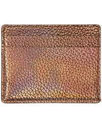 Paul Smith - Gold Slip Credit Card Holder - Lyst