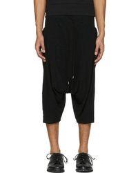 The Viridi-anne - Black Baggy Pocket Shorts - Lyst