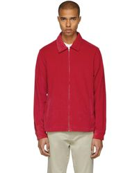 Noon Goons | Red Corduroy Club Jacket | Lyst