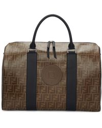 046682b55cce Fendi - Brown Forever Travel Duffle Bag - Lyst