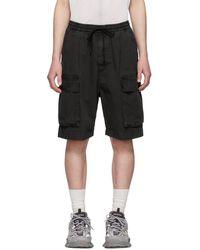 Juun.J - Grey Pocket Shorts - Lyst