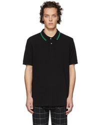 PS by Paul Smith - Black Regular Fit Polo - Lyst