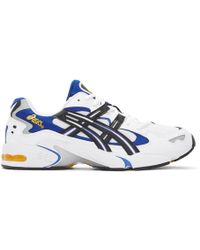 Asics - Kayano 5 Og Leather & Mesh Trainers - Lyst
