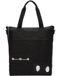 Rick Owens Drkshdw - Black Large New Shopper Tote - Lyst