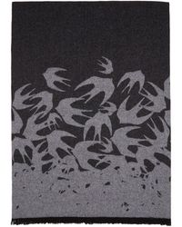 McQ - Black Swallow Degrade Scarf - Lyst