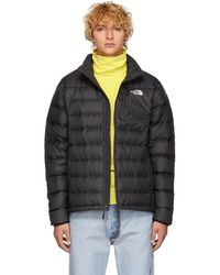 The North Face - Black Down Aconcagua Jacket - Lyst
