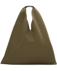 MM6 by Maison Martin Margiela - Brown Triangle Tote - Lyst