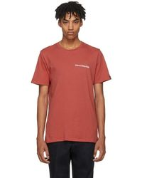 Rag & Bone - Red Have A Nice Day T-shirt - Lyst