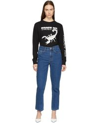 Ashley Williams - Ssense Exclusive Blue Ashley Jeans - Lyst