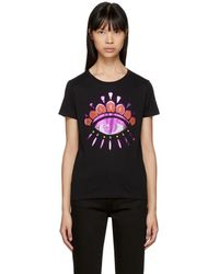KENZO - Black Limited Edition Holiday Eye T-shirt - Lyst