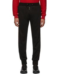 Paul Smith - Black Wool Lounge Trousers - Lyst