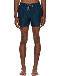 Paul Smith - Blue Classic Swim Shorts - Lyst