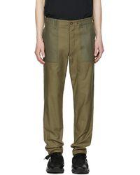 Rag & Bone - Green Field Trousers - Lyst
