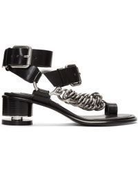 Alexander Wang - Black Jada Sandals - Lyst