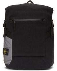 Stone Island - Black 91670 Backpack - Lyst
