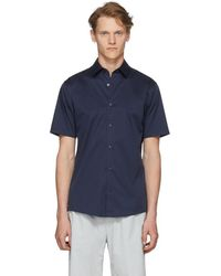 Tiger Of Sweden - Navy Joar Shirt - Lyst