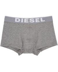 DIESEL - Grey Umbx-kory Boxer Briefs - Lyst