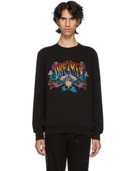 Paul Smith - Black Embroidered Dreamer Sweatshirt - Lyst
