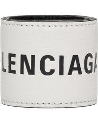 Balenciaga - White Cycling Bracelet - Lyst