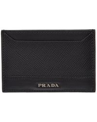 Prada - Black Card Holder - Lyst