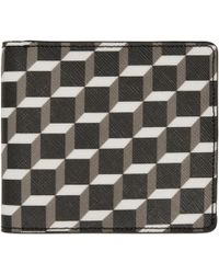 Pierre Hardy | Multicolor Canvas Cube Wallet | Lyst
