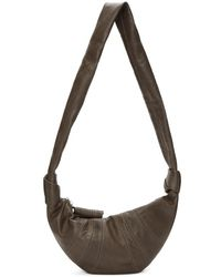 Lemaire - Grey Small Bum Bag - Lyst