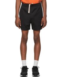 Acne Studios - Black Relaxed Fit Shorts - Lyst
