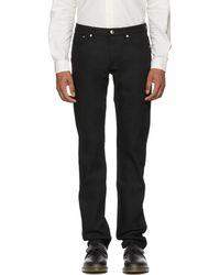 A.P.C. - Black Petit Standard Jeans - Lyst