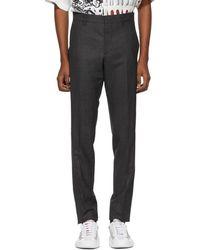 Prada - Grey Classic Chino Trousers - Lyst