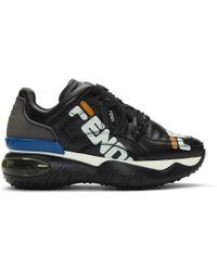 Fendi - Black Mania Sneakers - Lyst